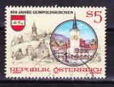miniature Autriche - 1990  Y & T  n°  1826   850 ème anniversaire de Gumpoldskirchen