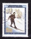 miniature Autriche - 1990  Y & T  n°  1827   Cinquantenaire de la mort de Mathias Zdarsky