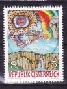 miniature Autriche - 1990  Y & T  n°  1830   Art moderne en Autriche