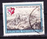 miniature Autriche - 1991  Y & T  n°  1853   800 ème anniversaire de Spittal sur la Drave