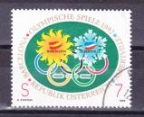 miniature Autriche - 1992  Y & T  n°  1878   Jeux olympiques de 1992 Albertville