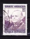 miniature Autriche - 1992  Y & T  n°  1889   Sesquicentenaire de la naissance de Norbert Hanrieder