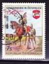 miniature Autriche - 1999  Y & T  n°  2118   150 ème anniversaire de la Gendarmerie Nationale