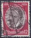 ALLEMAGNE REICH 1934 oblitéré N° 501