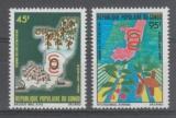 miniature PAIRE NEUVE DU CONGO - JOURNEE DU CAFE ET DU CACAO N° Y&T 575/576