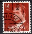Espagne - 1982 -  n°2278 (YT) Série courante , Juan Carlos 1er  (O)