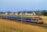 miniature CMFM 052 - Train Interloire - loco BB 26122 vers AMBOISE - 37 - SNCF