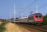 miniature CMFM 059 - Train d´essais - loco BB 36002 et BB 26088 vers CONNERRE-BEILLE - 72 - SNCF