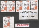 miniature N° 3444 a MAURY BOSQUET .SANS PHOSPHORE  L UNITE