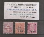 miniature n° 249 / 51* * caisse amm.tbc