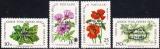 miniature Chypre (Turquie) 1983 Fleurs des champs (série 1) surchargés