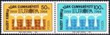 miniature Chypre (Turquie) 1984 Europa - 25e anniversaire de la CEPT  - Y&T 127/8 **