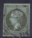 FRANCE 1862 N° 11 signé