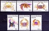 miniature Cocos (Keeling) 1992 Crabes (série 1)