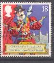 miniature Grande Bretagne 1992 YT 1628 Obl Musique Compositeur Arthur Sullivan