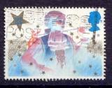 miniature Grande Bretagne 1985 YT 1202 Obl Noel Costume de pantomime Le jeune premier