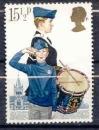 miniature Grande Bretagne 1982 YT 1039 Obl Scoutisme Membres de la Boys brigade