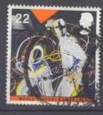 miniature Grande Bretagne 1991 YT 1547 Obl Jeux mondiaux universitaire Sheffield Escrime