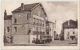 miniature CPA 43 Loudes , Hôtel Varenne route du puy , arrivée de l'autobus