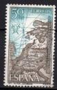 Espagne - 1971 -  n°1663 (YT) Année Saint-Jacques de Compostelle (I)   (O)