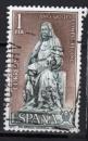 Espagne - 1971 -  n°1664 (YT) Année Saint-Jacques de Compostelle (I)   (O)