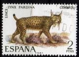 Espagne - 1971 -  n°1692 (YT) Faune : Lynx   (O)