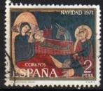 Espagne - 1971 -  n°1714 (YT) Noël   (O)