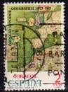 Espagne - 1974 -  n°1827 (YT) Conseil supérieur de géographie    (O)