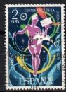 Espagne - 1974 -  n°1866 (YT) Centenaire de l'UPU     (O)