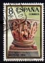 Espagne - 1974 -  n°1874 (YT) Noël     (O)