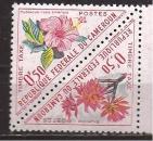 miniature CAMEROUN N° TT 35**+36**  HIBISCUS  / Timbre taxe