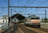 miniature RU 0070 - Loco BB 7226 en gare - COUTRAS - 33 - SNCF
