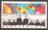 miniature Allemagne 1998 YT 1805 Obl Centenaire Institut Max Planck