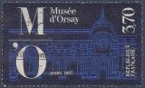 miniature FRANCE 1986 : yt 2451 Oblitéré/Used # Inauguration du musée d'Orsay