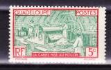 miniature Guadeloupe 1928-38  Y  1 T n°102