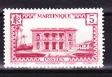 miniature Martinique  1933-38 Y  & T   n° 136