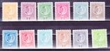 miniature Montenegro  1913  Y  & T   n° 100 à 111**  Nicolas 1er - série complète