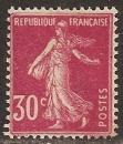 miniature FRANCE 1924  YT 191 type IIA Neuf - Semeuse 30 c rose