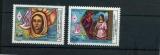 miniature MONACO 1594 1595  CROIX ROUGE 1987 neufs ** luxe MNH SIN CHARNELA  faciale 1.37
