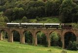 miniature ART 253 - Train - locotracteur EL n° 4 sur le viaduc de la Patte - BRUSSIEU - 69