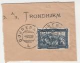 miniature Norvège Sur fragment  Y&T 150