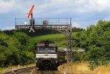 miniature RU 0336 - Train le Ventadour - loco BB 67613 entrant en gare - PONTGIBAUD - 63 - SNCF