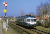 miniature RU 0339 - Autorail X 2850 quittant la gare - VOLVIC - 63 - SNCF