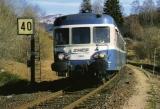 miniature RU 0341 - Autorail X 2885 vers LA BOURBOULE - 63  - SNCF