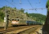 miniature RU 0464 - Train - loco BB 8616 entrant en gare - SOUILLAC - 46 - SNCF