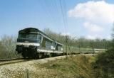 miniature RU 0751 - Train - loco BB 67320 vers USSEL - Corrèze 19 - SNCF