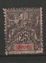 miniature INDOCHINE        N° YVERT      10    OBLITERE    (ALB)