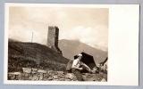 miniature Carte Postale photo à identifier - Homme en randonnée en montagne - Tour
