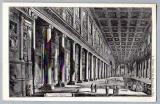 miniature Carte Postale - Veduta interna della Basilica di S. Maria Maggiore - Vatican Rome
