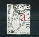 miniature FRANCE 2407 allégorie la typographie cachet rond 1986 oblitéré used